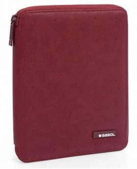 Gabol Alpha Portafolio A5 Rojo