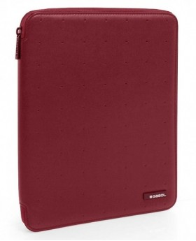 Gabol Alpha Portafolio A4 Rojo