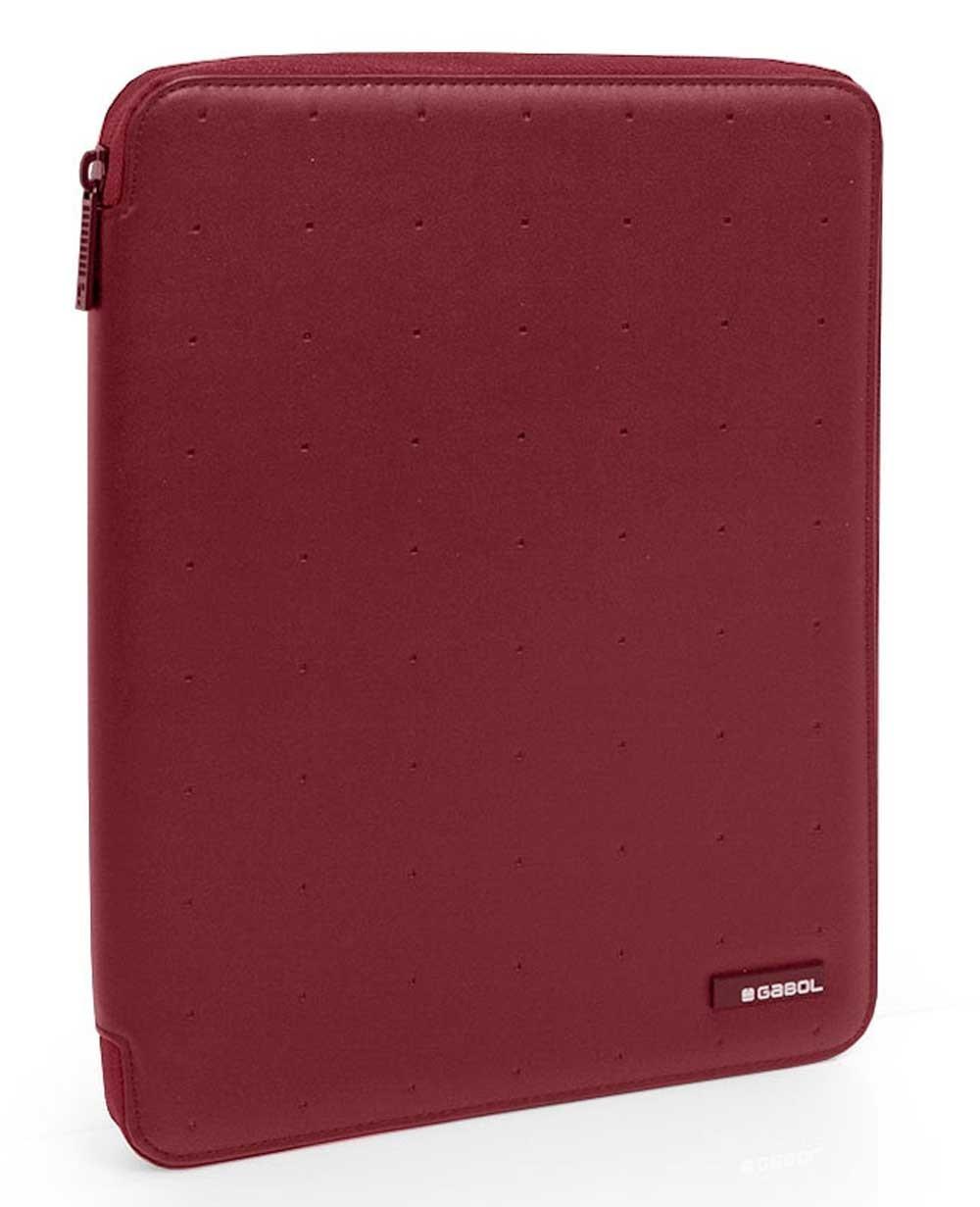 "Gabol Alpha 13.3"" Portafolio A4 tablet Rojo (Foto )"