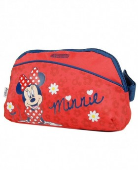 American Tourister Minnie Bow Neceser Rojo